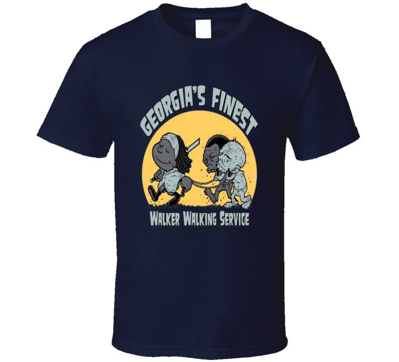 Michonnes Walker Walking Service - The Walking Dead - Georgia's Finest - Walker Killers T Shirt