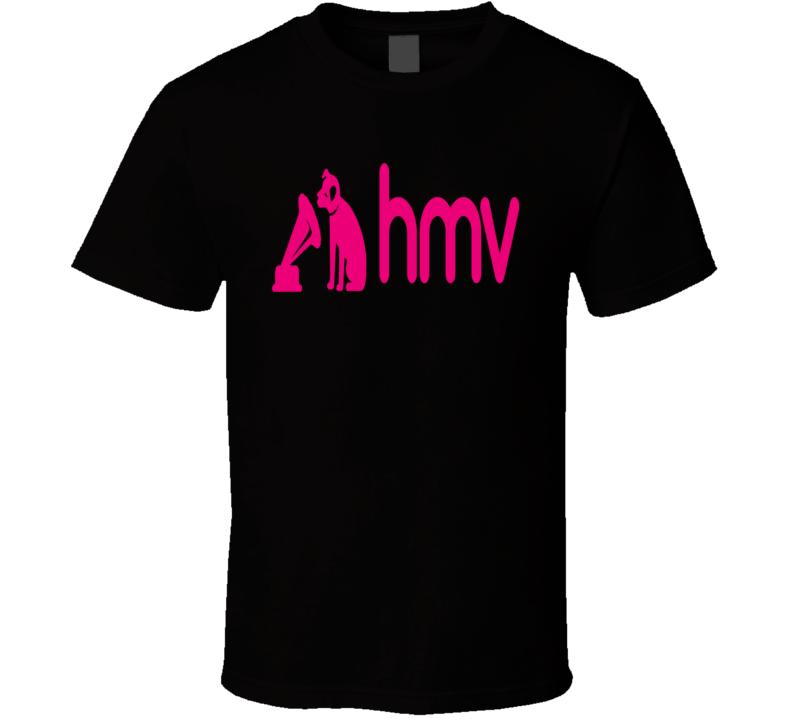 HMV - Retro, Music, RIP, CDs, DVDs  T Shirt