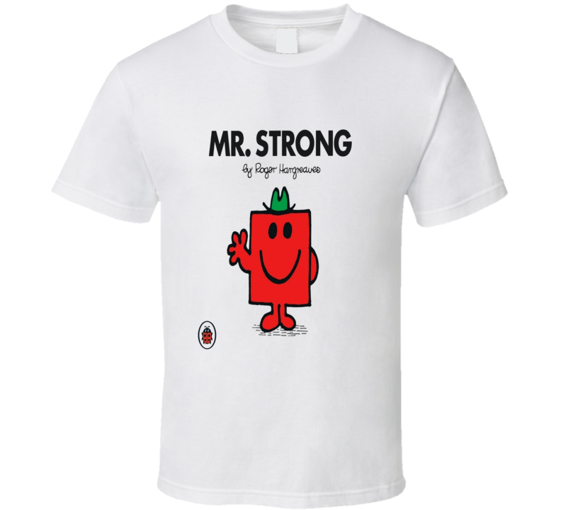 Retro Mr. Men Series - Mr Strong T Shirt