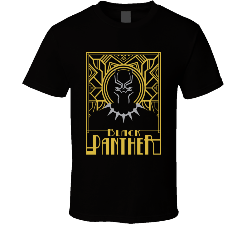 Black Panther - Stylistic Tee  T Shirt