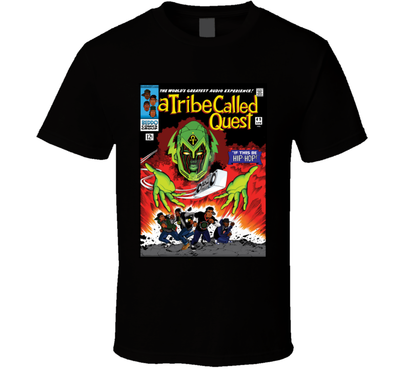 A Tribe Called Q U E S T - B E D D O Comic Hip Hop Mash Up  T Shirt