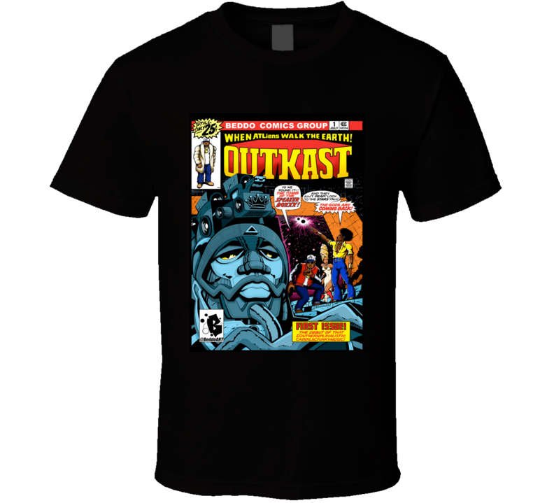 Outkast - B E D D O - Sperboxxx Comic Mash Up  T Shirt