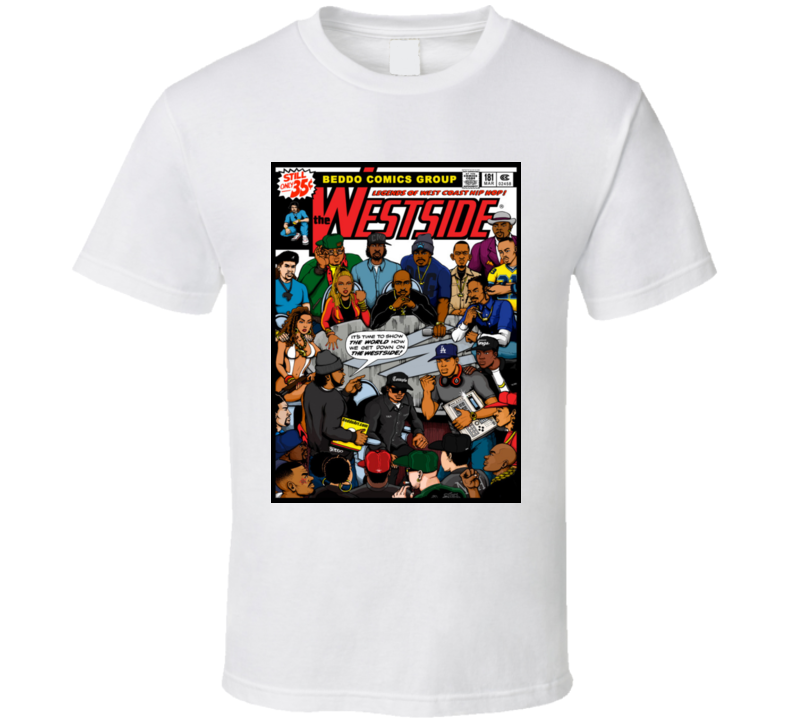 Westside Hip Hop Legends - B E D D O  T Shirt
