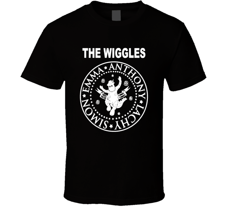 The Wiggles Tour Shirt - Emma Lachy Anthony And Simon Wiggle