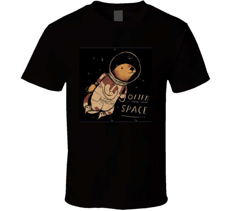 Space Otter T Shirt