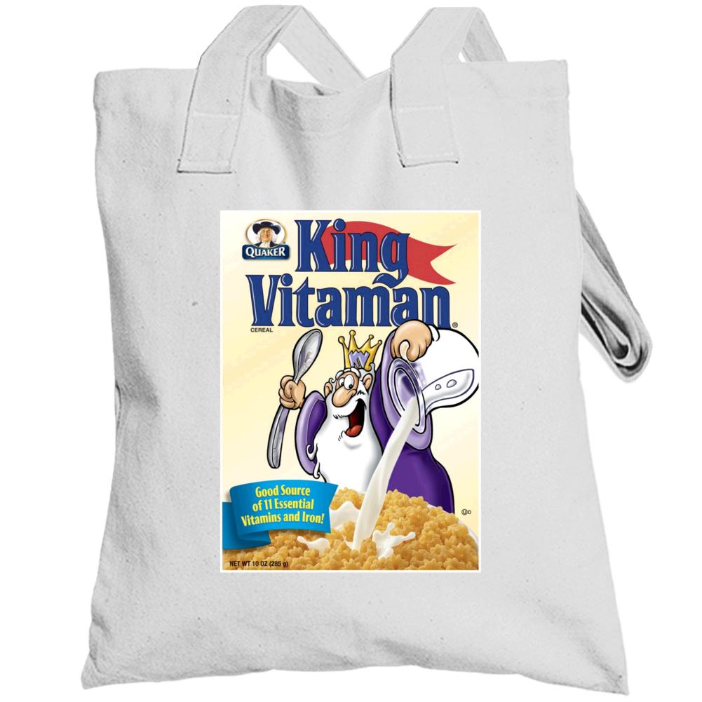 King Vitamin Retro 80s Cereal Totebag