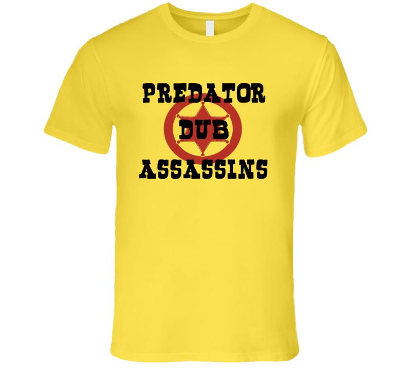 PDA Western Star blk+red print (Yellow) T Shirt