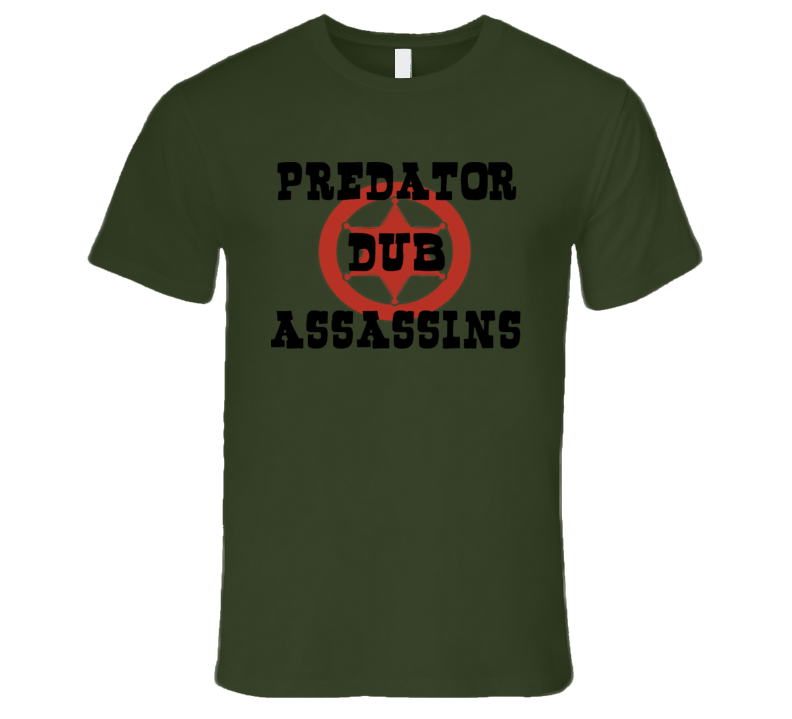 PDA Western Star blk+red print (Olive) T Shirt