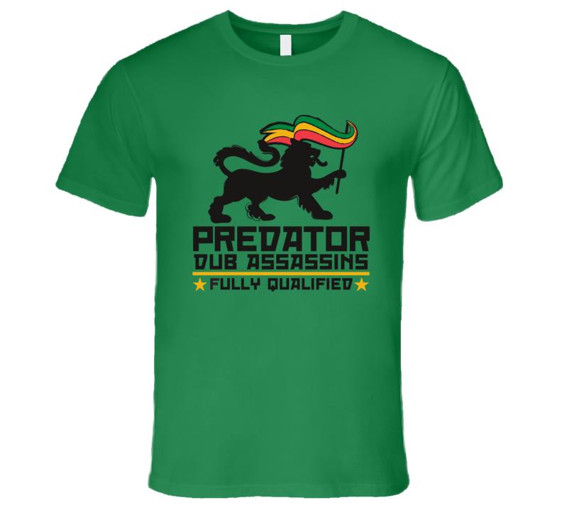 PDA FQ blk print (Kelly) T Shirt