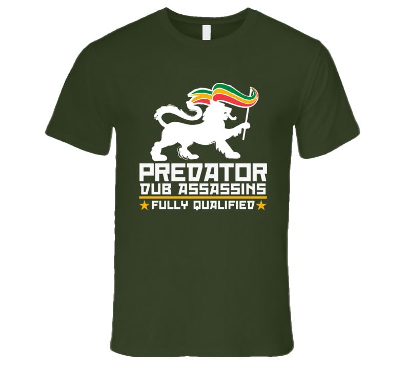 PDA FQ wht print (Olive) T Shirt