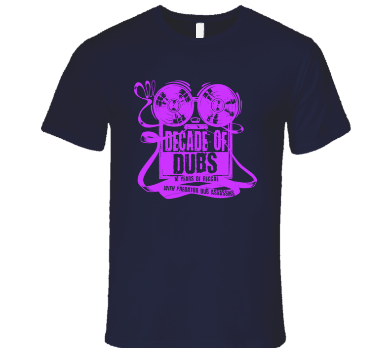 PDA DoD Lavender print (NAVY) T Shirt