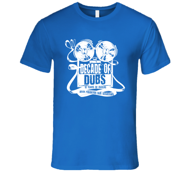 PDA Dod wht print (Royal) T Shirt