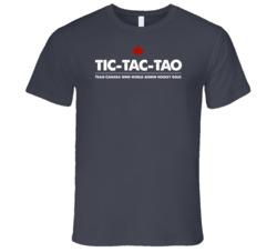 2015 IIHF Canada Junior Hockey Gold Tic-Tac-Tao T-Shirt