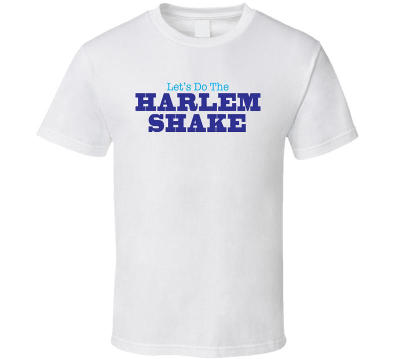 Harlem Shake T Shirt White