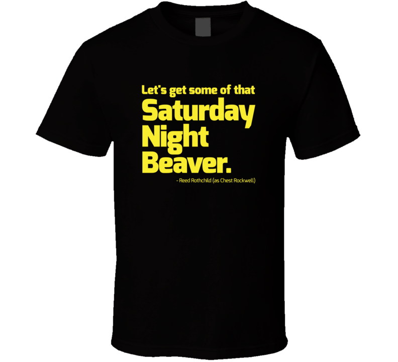 Boogie Nights Saturday Night Beaver T Shirt