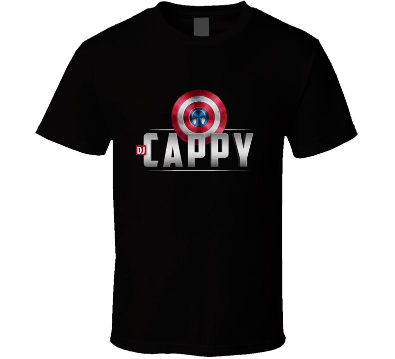 Dj Cappy Black TShirt