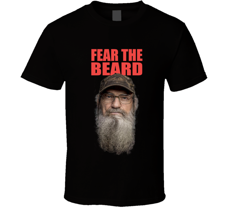 Fear The Beard T Shirt
