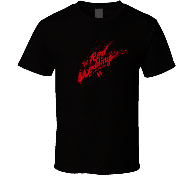Game of Thrones Red Wedding T Shirt