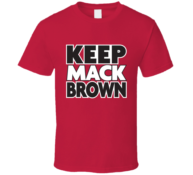Keep Mack Brown Texas Tech T Shirt