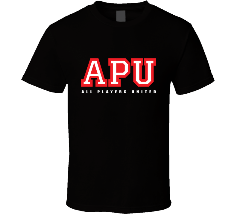 APU All Players United T Shirt