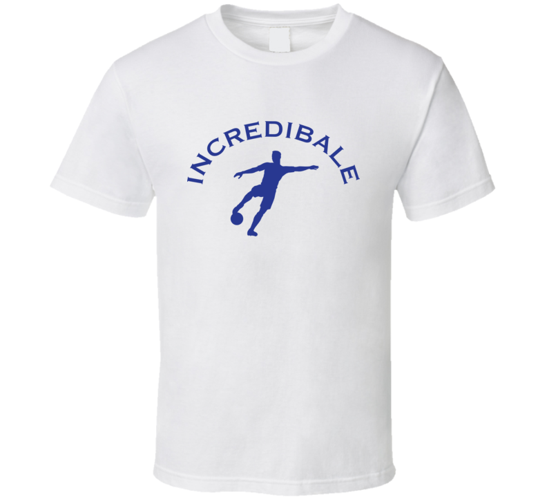 Incredibale Gareth Bale Insprired T Shirt