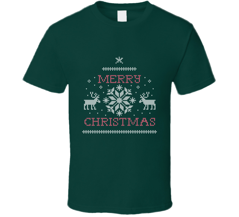 Merry Christmas Ugly Sweater T Shirt