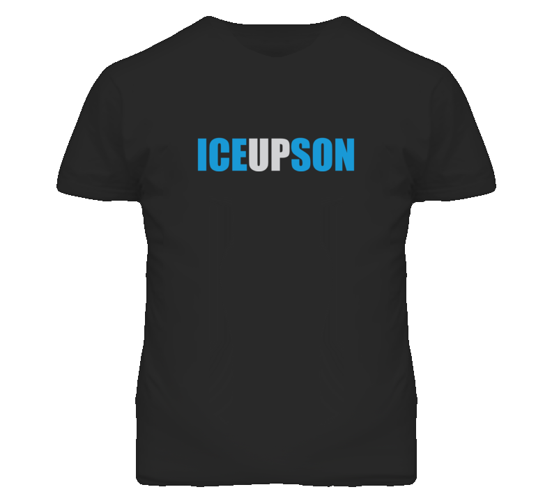 Ice Up Son Steve Smith Inspired T Shirt Black