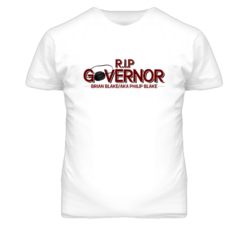 R.I.P Governor Walking Dead Inspired T Shirt