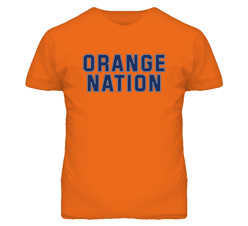 Orange Nation Syracuse Inspired T Shirt