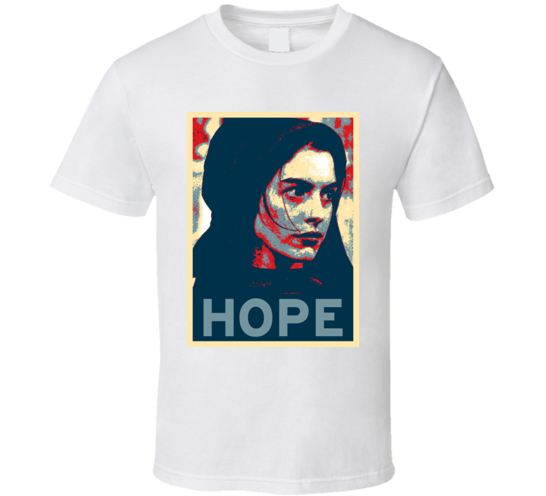Anne Hathaway HOPE poster T Shirt