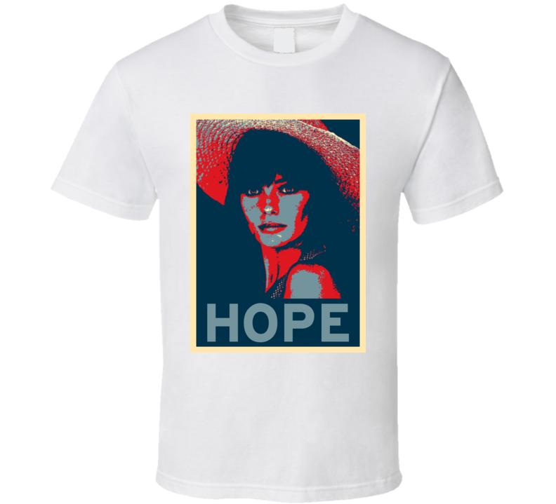 Jacqueline Bisset HOPE poster T Shirt