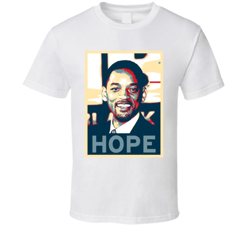 Will Smith HOPE poster T Shirt