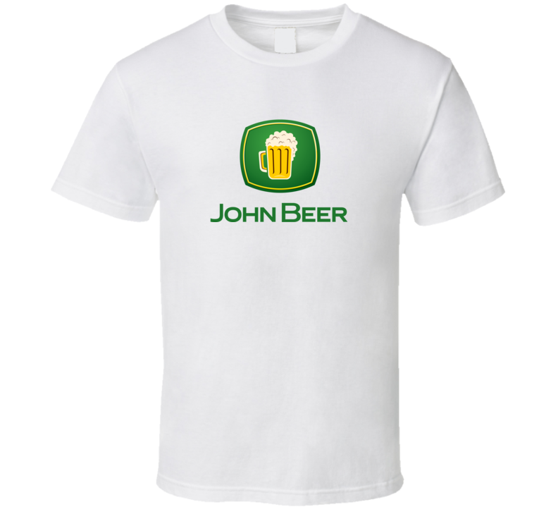John Beer John Deere Inspired T Shirt