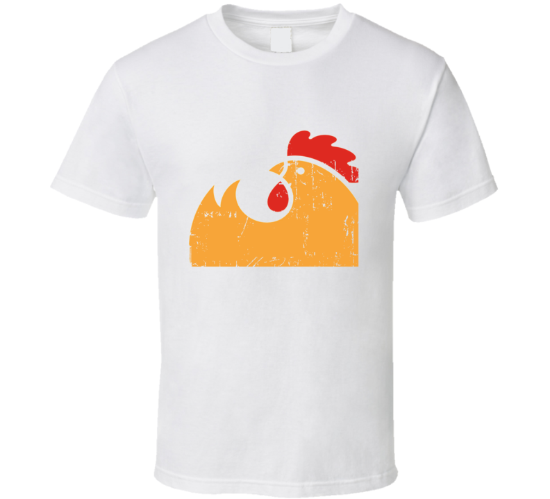 Rotisserie Moms Express Fast Food Restaurant Distressed Look T Shirt