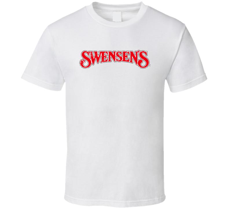 Swensons Fast Food Restaurant Distressed Look T Shirt