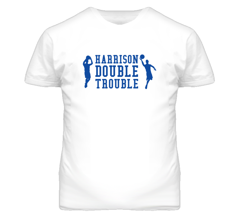 Harrison Double Trouble T Shirt on white