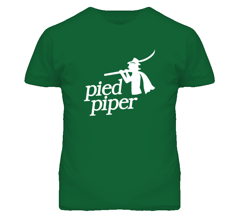 Silicon Valley Pied Piper Logo T shirt