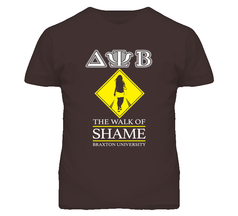 Neighbors Delta Psi Beta The Walk of Shame Zac Efron T Shirt