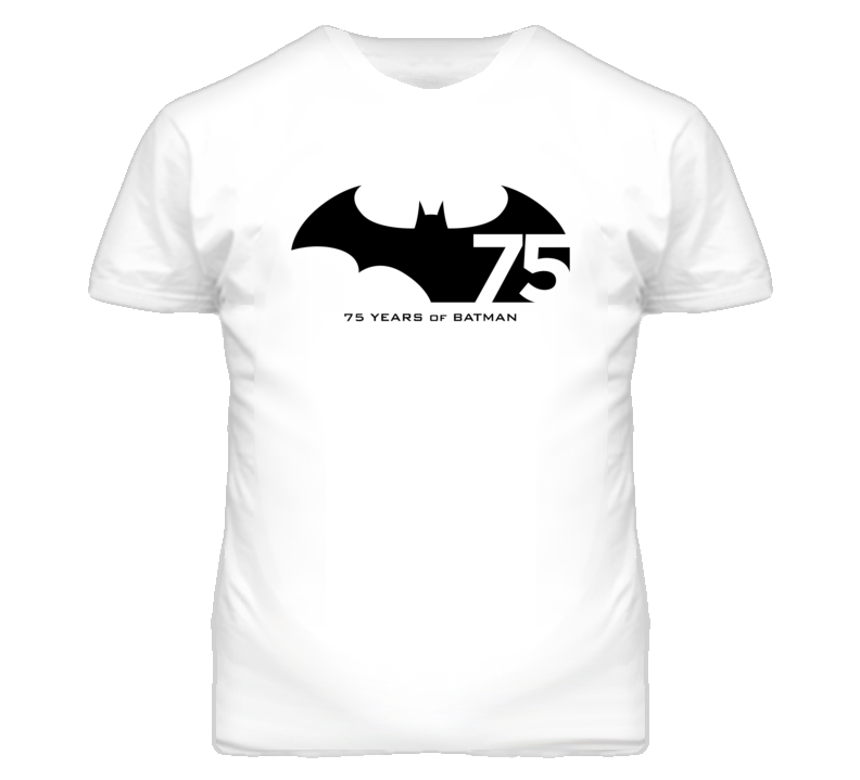 Batman 75th Anniversary T shirt