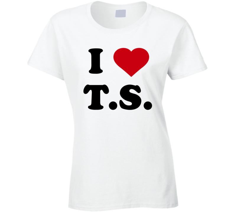 I Heart T.S Tom Hiddleston July Fourth Women's Tshirt