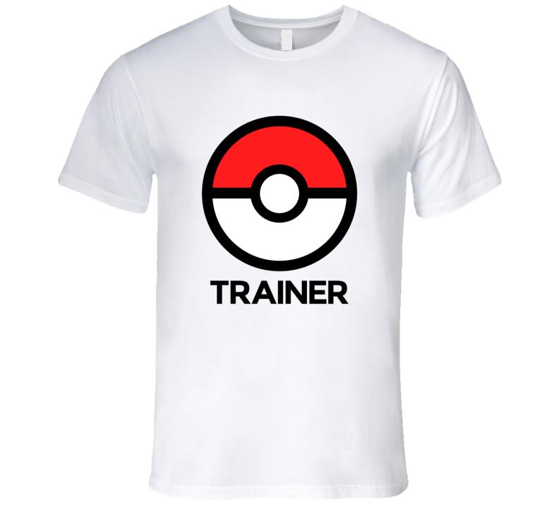 Pokemon Go Trainer Tshirt