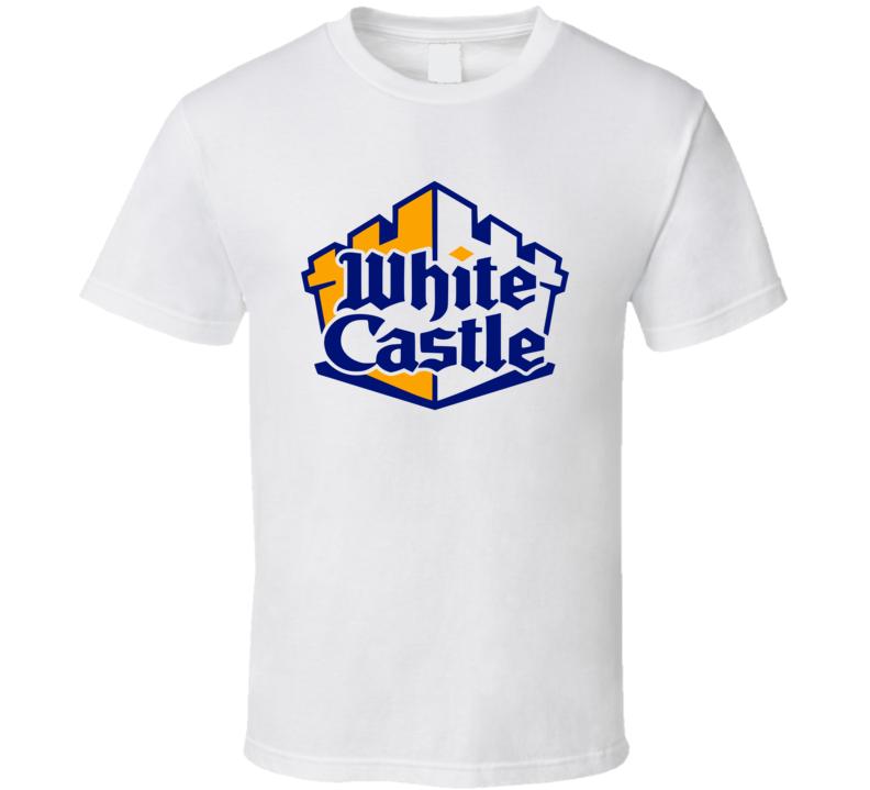 White Castle Harold & Kumar Inspired White T Shirt