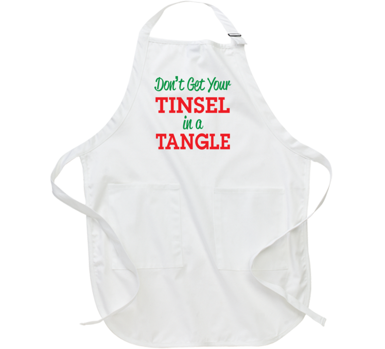Don't Get Your Tinsel in a Tangle Apron