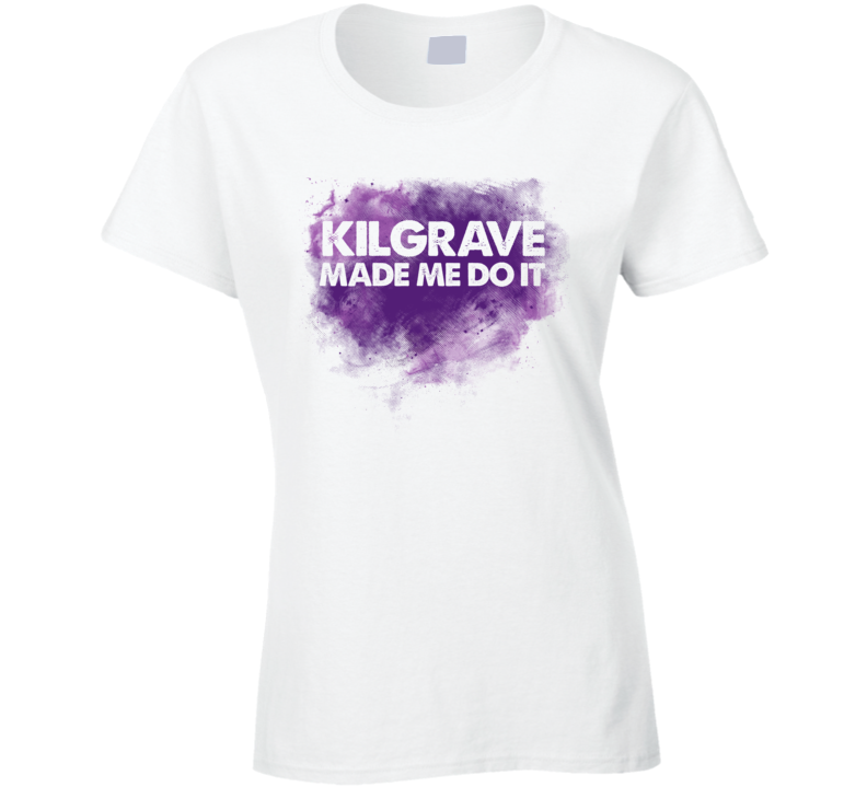 Kilgrave Made Me Do It Jessica Jones Inspired Tshirt