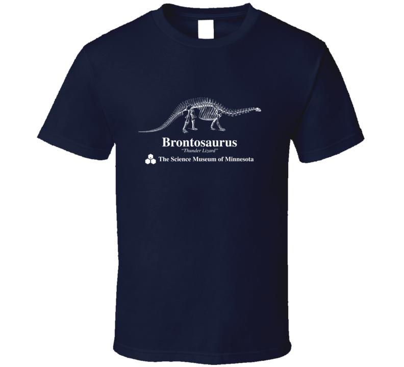 Cool Strange Vintage Brontosaurus Science Tshirt