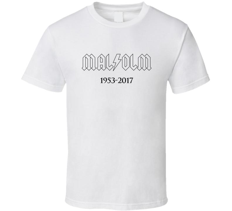 Malcolm Young Memorial Tshirt