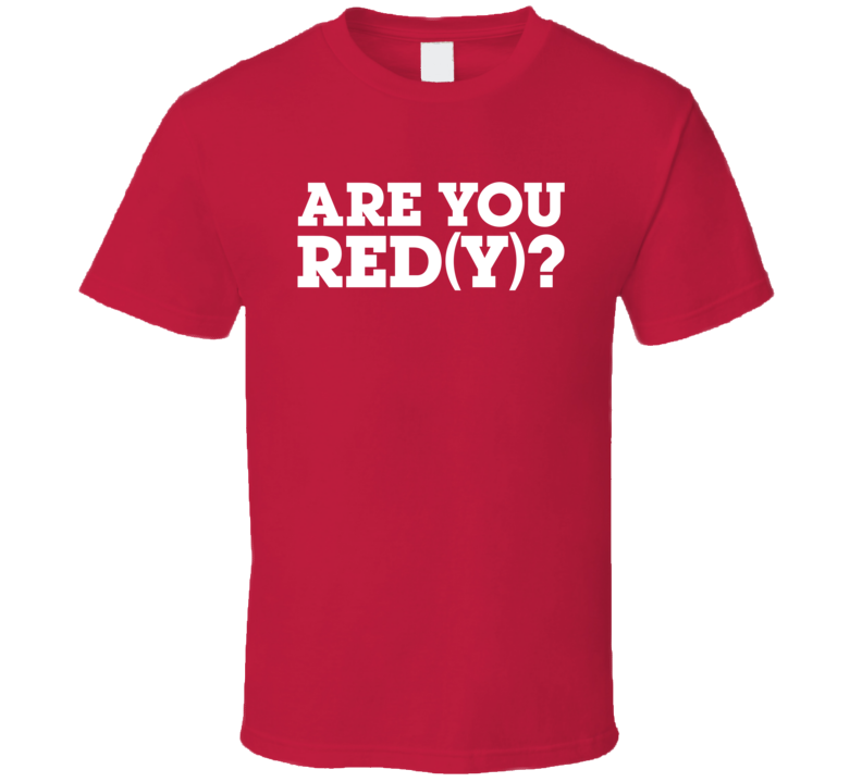 Georgia Are You Red(y) T Shirt