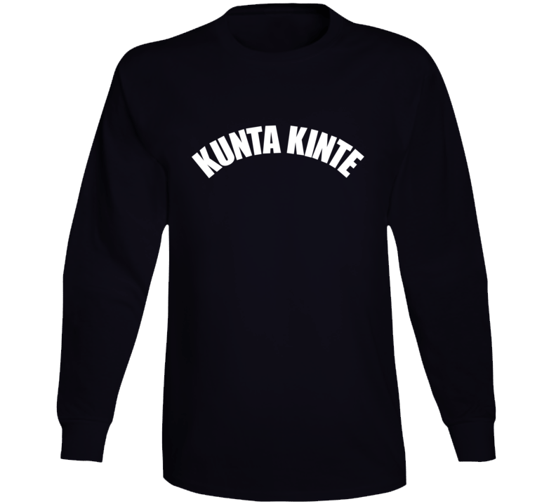 Kunta Kinte Colin Kaepernick Inspired Long Sleeve