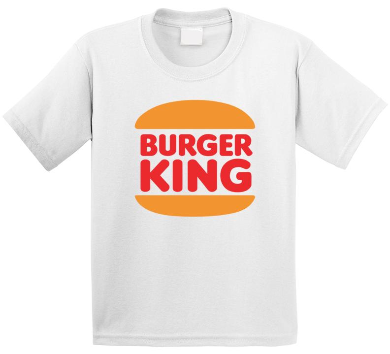 Burger King Retro Kids T Shirt