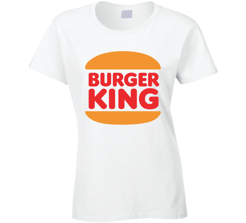 Burger King Retro Ladies T Shirt